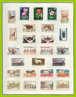 Collection MALI 37 SCANS (cote 1080 Euros) TP PA Taxes * MH Et Blocs** MNH (1960 à 1976 Presque Complet) A Profiter ! TB - Colecciones (en álbumes)