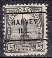USA Precancel Vorausentwertung Preo, Locals Illinois, Harvey 696-255 - Vereinigte Staaten