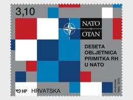 Kroatië / Croatia - Postfris/MNH - 10 Jaar Lidmaatschap NATO 2019 - Kroatië