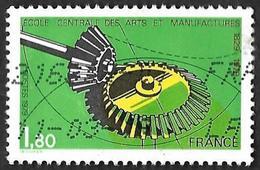 FRANCE   1979  -  Y&T   2066   -  Ecole Centrale Des Arts Et Manufactures  - Oblitéré - France