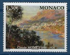 "Monaco YT 2716 "" Tableau Claude Monet "" 2009 Neuf** - Monaco"