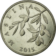 Monnaie, Croatie, 20 Lipa, 2015, TTB, Nickel Plated Steel - Croatie