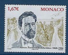 """Monaco YT 2715 """" Tchekhov """" 2009 Neuf** - Monaco"""
