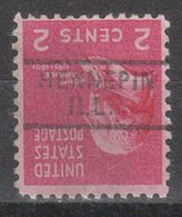 USA Precancel Vorausentwertung Preo, Locals Illinois, Hennepin 729 - Vereinigte Staaten