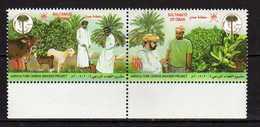 Oman 2005 Agriculture Statistics. Cow, Goat,plants. MNH - Oman