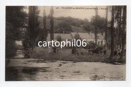 - CPA VILLEDIEU-EN-BEAUCE (41) - Boisneuf (avec Personnages) - Edition Huguet 308 - - Other Municipalities