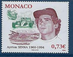 "Monaco YT 2709 "" Ayrton Senna "" 2009 Neuf** - Monaco"