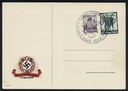 A6097) DR Sonderkarte Wien 09.04.38 Mischfrankatur Nicht Gelaufen - Briefe U. Dokumente