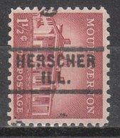USA Precancel Vorausentwertung Preo, Locals Illinois, Herscher 729 - Vereinigte Staaten