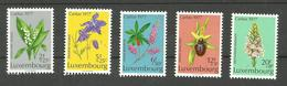 Luxembourg N°907 à 911 Neufs** Cote 7.00 Euros - Unused Stamps