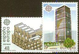 SPANIEN 1987 Mi-Nr. 2781/82 ** MNH - CEPT - 1931-Heute: 2. Rep. - ... Juan Carlos I