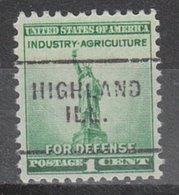 USA Precancel Vorausentwertung Preo, Locals Illinois, Highland 703 - Vereinigte Staaten
