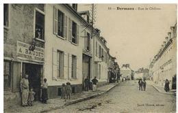 Dormans: Rue De Châlons, Maréchalerie Baudet, Belle Animation - Dormans