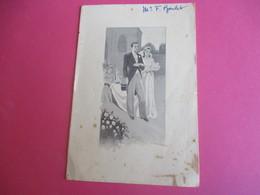 Menu De Repas De  Mariage /Déjeuner/Héléne MALINET-René CARBONNIER/françois Boulet//1950  MENU263 - Menus