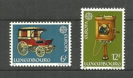 Luxembourg N°937, 938 Neufs** Cote 7.50 Euros - Unused Stamps