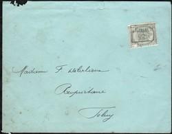 Lettre Affranchie Avec Un Timbre Préoblitéré Envoyée De Bruxelles Vers Feluy En 1902 - Precancels