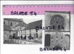 3 Photographies LIEU RESTAURE (60) L'Abbaye 29.07.1968 - Lugares
