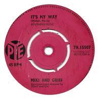 """Miki & Griff   """"  It's My Way  """" - Vinyl Records"""