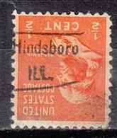 USA Precancel Vorausentwertung Preo, Locals Illinois, Hinsboro 459 - Vereinigte Staaten