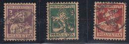 Switzerland 1916 Pro Juventute 3v Used (42298) - Pro Juventute