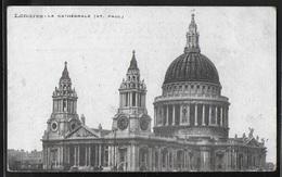 REPRODUCTION ANGLETERRE - Londres, La Cathédrale St Paul - St. Paul's Cathedral