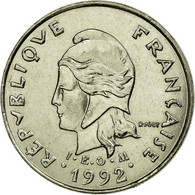 Monnaie, French Polynesia, 10 Francs, 1992, Paris, TTB, Nickel, KM:8 - French Polynesia