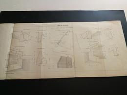 ANNALES PONTS Et CHAUSSEES (Dep 55) - Plan De Rigole De Vaucouleurs - 1909 (CLA40) - Travaux Publics
