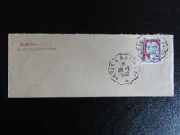 Ambulant Arras à Amiens 21 -1962- Sur Marianne Decaris 1263- Sur Fragment - Marcophilie (Lettres)