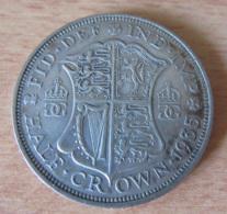 Angleterre - Monnaie Half-Crown 1935 En Argent - TTB - 1902-1971 : Monnaies Post-Victoriennes