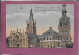 59.- COMINE .- Le Beffroi Et L' Eglise - Frankreich