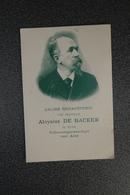Aalst  Fotokaart  Priester Daens  Aloysius De Backer 1997 Herdenkingsviering - Documents Historiques