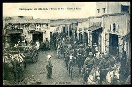 Cpa Du Maroc -- Campagne Du Maroc -- Retour De Fez -- Entrée à Rabat  MA1 - Fez (Fès)