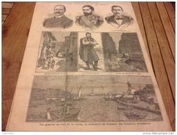 1897 LES ÉVÉNEMENTS DE CRÊTE PORT DE LA CANÉE - LES CHARS DU BŒUF GRAS - LE PETIT PARISIEN - Journaux - Quotidiens