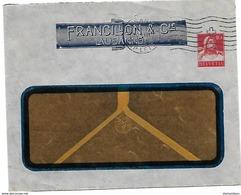 """162 - 39 - Entier Postal Privé """"Francillon & Cie Lausanne"""" 1916 - Entiers Postaux"""