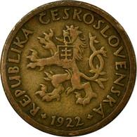 Monnaie, Tchécoslovaquie, 10 Haleru, 1922, TB+, Bronze, KM:3 - Tchécoslovaquie