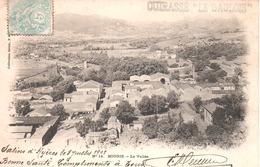 LE GAULOIS Carte Postale Circulée Griffe Cuirassé LE GAULOIS Obl. Salins D'Hyeres 03/07/05 - Guerre