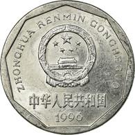 Monnaie, CHINA, PEOPLE'S REPUBLIC, Jiao, 1996, TTB, Aluminium, KM:335 - Chine