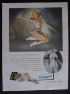 ORIGINAL 1956  MAGAZINE ADVERT FOR ST MARGARET NYLONS BY CORAH - Sonstige