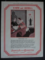 ORIGINAL 1933  MAGAZINE ADVERT FOR ABDULLA CIGARETTES - Other