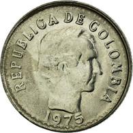 Monnaie, Colombie, 10 Centavos, 1975, TTB, Nickel Clad Steel, KM:253 - Colombie