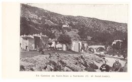 1924 - Iconographie - Saumane (Gard) - Le Gardon De Saint-Jean - FRANCO DE PORT - Non Classés