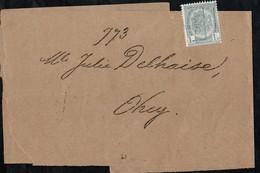 Bande Journal Affranchie Avec Un Timbre Préoblitéré Envoyée De Gand Vers Ohey En 1905 - Precancels