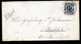 A6098) Schweden Sverige Brief 12.10.74 N. Stockholm - Schweden