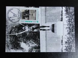 """Nantes - Retour De La Statue """"la Délivrance"""" 11 Novembre 2018 - Thème Guerre 1914/1918 - Cartes-Maximum"""