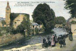 FRANCE -  QUIMPERLE Vue Sur L'Elle - Le Chemin Du Min Quen Etc - Superbly Animated View - Quimperlé