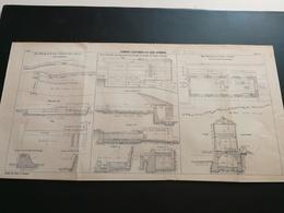 ANNALES PONTS Et CHAUSSEES (Dep 09) - Plan Des Tramways éléctriques Du St-Gironnais  - 1917 (CLA46) - Máquinas