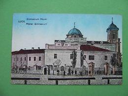 LUTSK Luck 1916 Gymnasium. Postcard - Ukraine