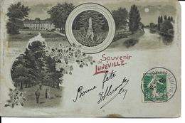 """54 - Lunéville - Carte Multivues """"Souvenir De Lunéville"""" - Luneville"""