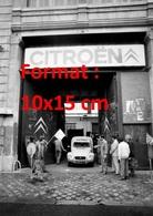 Reproduction D'une Photographie Ancienne D'une Vue De L'entrée De L'usine Citroen De Levallois En Grève En 1984 - Repro's