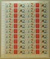 DDR ZD-Bogen MiNr. 3086-87 Postfrisch MNH WPD 3 (BW7084 - DDR